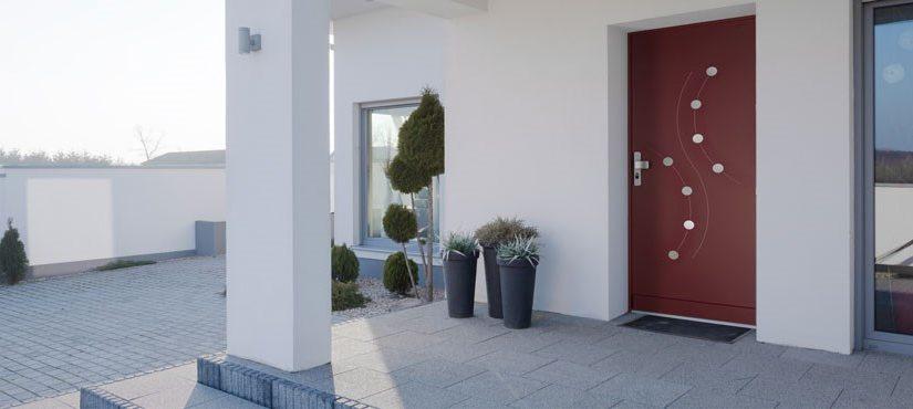 Porte blindée Fichet pour Villa STYLEA